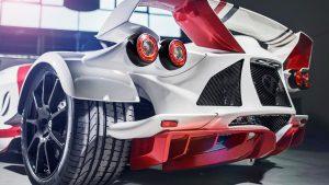 marca coche futurista