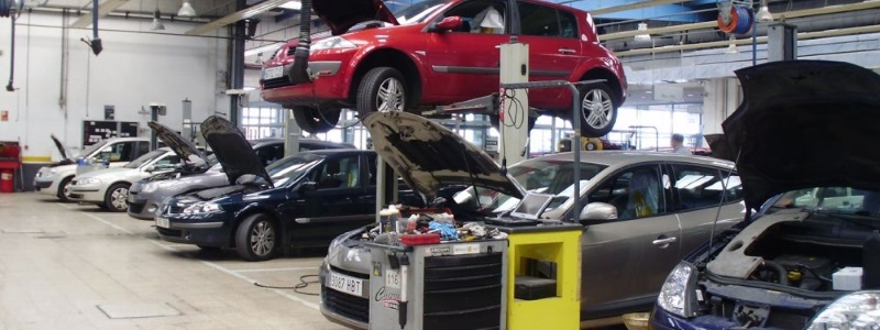 taller de coches