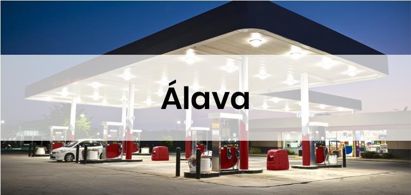 las gasolineras mas baratas de Alava