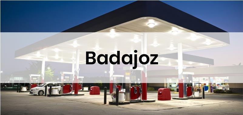 las gasolineras mas baratas de Badajoz