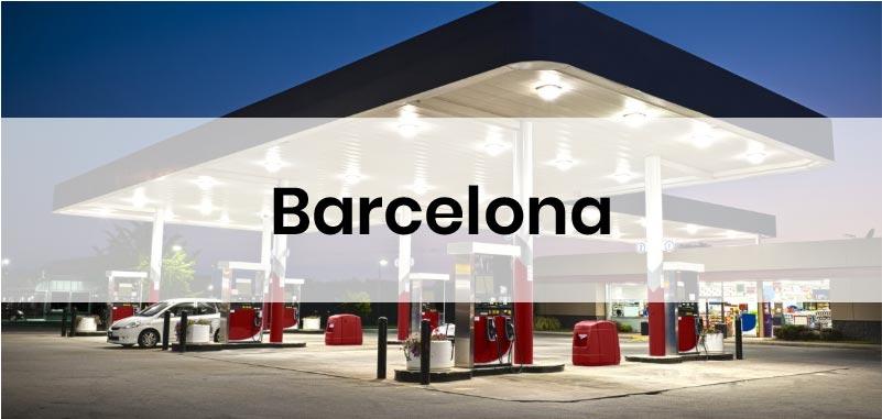 las gasolineras mas baratas de Barcelona