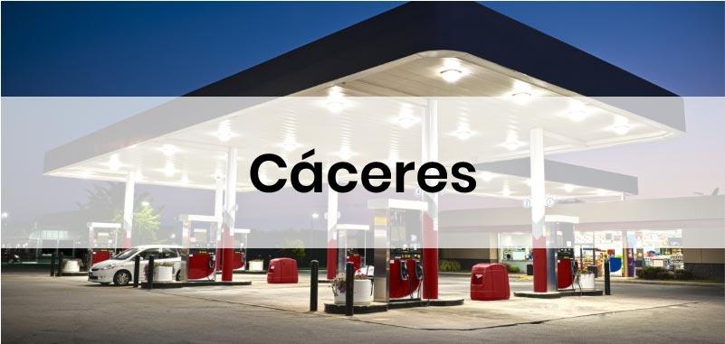 las gasolineras mas baratas de Caceres