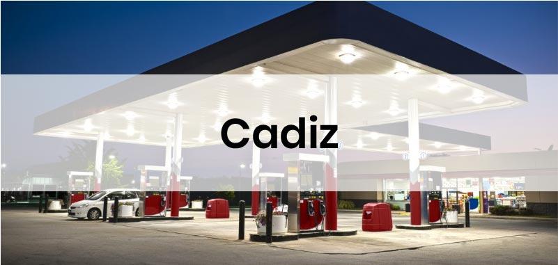 las gasolineras mas baratas de Cadiz
