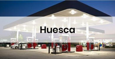 las gasolineras mas baratas de Huesca