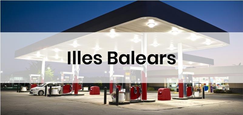las gasolineras mas baratas de Illes Balears