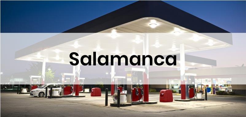 las gasolineras mas baratas de Salamanca