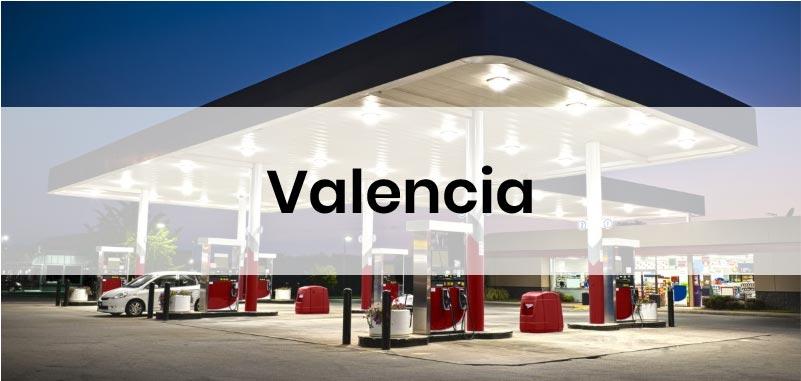 las gasolineras mas baratas de Valencia