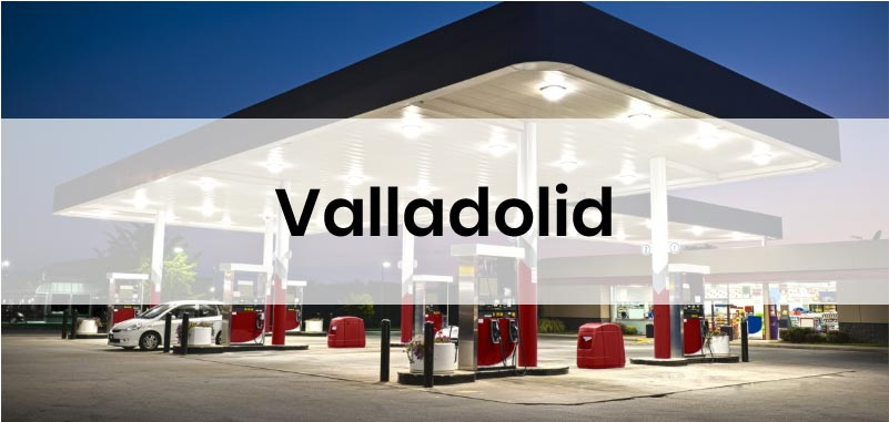 las gasolineras mas baratas de Valladolid
