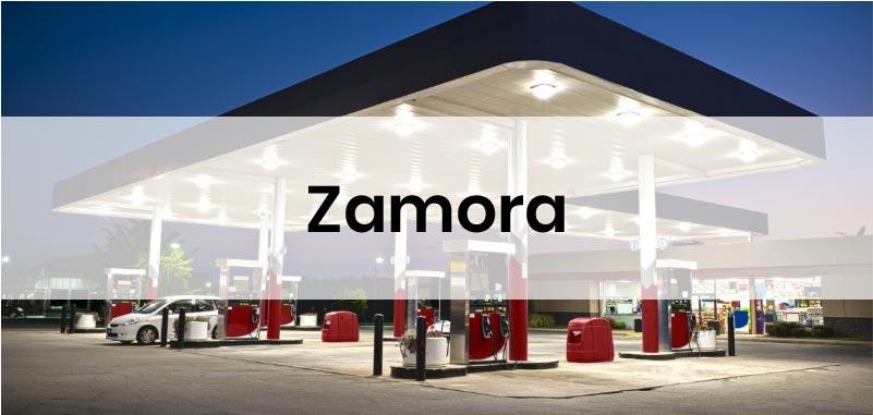 las gasolineras mas baratas de Zamora