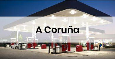 las gasolineras mas baratas de a Coruña